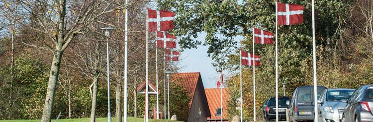 Flag allé - Erhverv