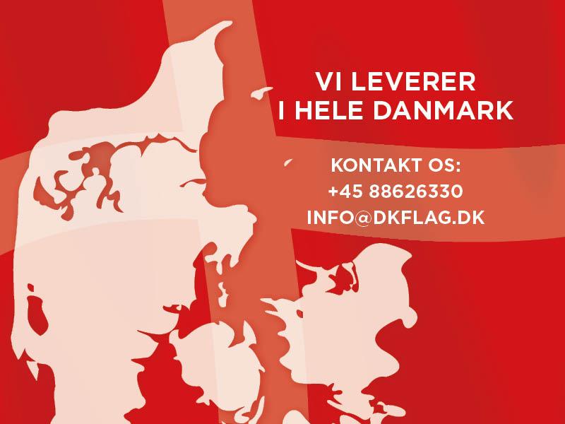 Vi leverer til hele Danmark